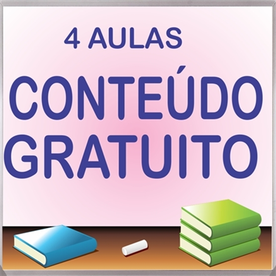 4 AULAS GRATUITAS
